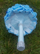 Load image into Gallery viewer, Blue and Bling Bouquet Set