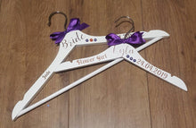 Load image into Gallery viewer, Personalised Adult Wooden Hanger