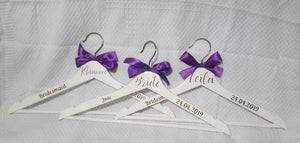 Personalised Adult Wooden Hanger