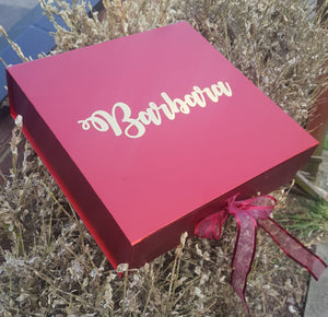 Personalised Bridesmaid Proposal Keepsake Box