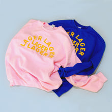 Load image into Gallery viewer, Lager Lager Lager Lager Sweatshirt (Pink)