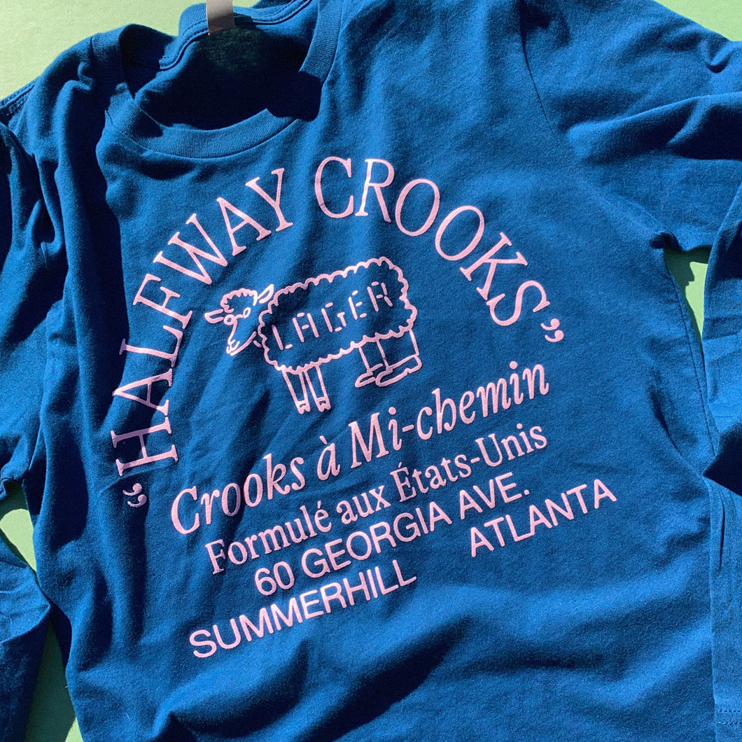 Crooks à Mi-chemin Long Sleeve Tee