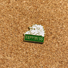 Load image into Gallery viewer, happiness sheep enamel pin