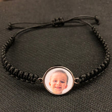 Load image into Gallery viewer, Bracelet, Circle on Braided Cord