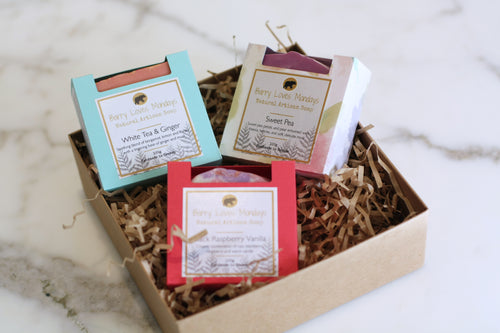 Gift Box - Assorted Soap Set