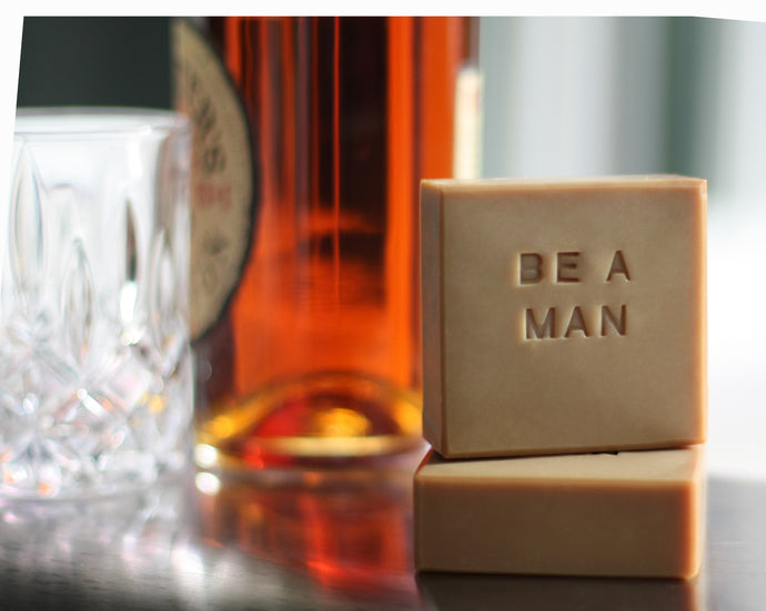 Handmade Soap, Be A Man, Enjoy this luxurious aroma of fresh tobacco leaves, orange, vanilla and amber.