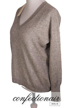 "Laden Sie das Bild in den Galerie-Viewer, 100% Kaschmir Pullover Mediocre ""Made in Italy"" Medium-Ripp Damen Cashmere"