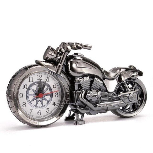 Details about  /motorcycle alarm clock furnish dekstop decor Birthday gift cristmas student gift