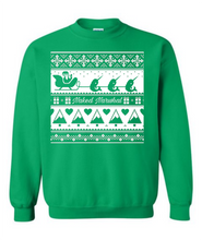 Load image into Gallery viewer, Christmas Naked Narwhal Crew Neck Sweatshirt