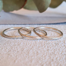 Load image into Gallery viewer, Stacking ring trio
