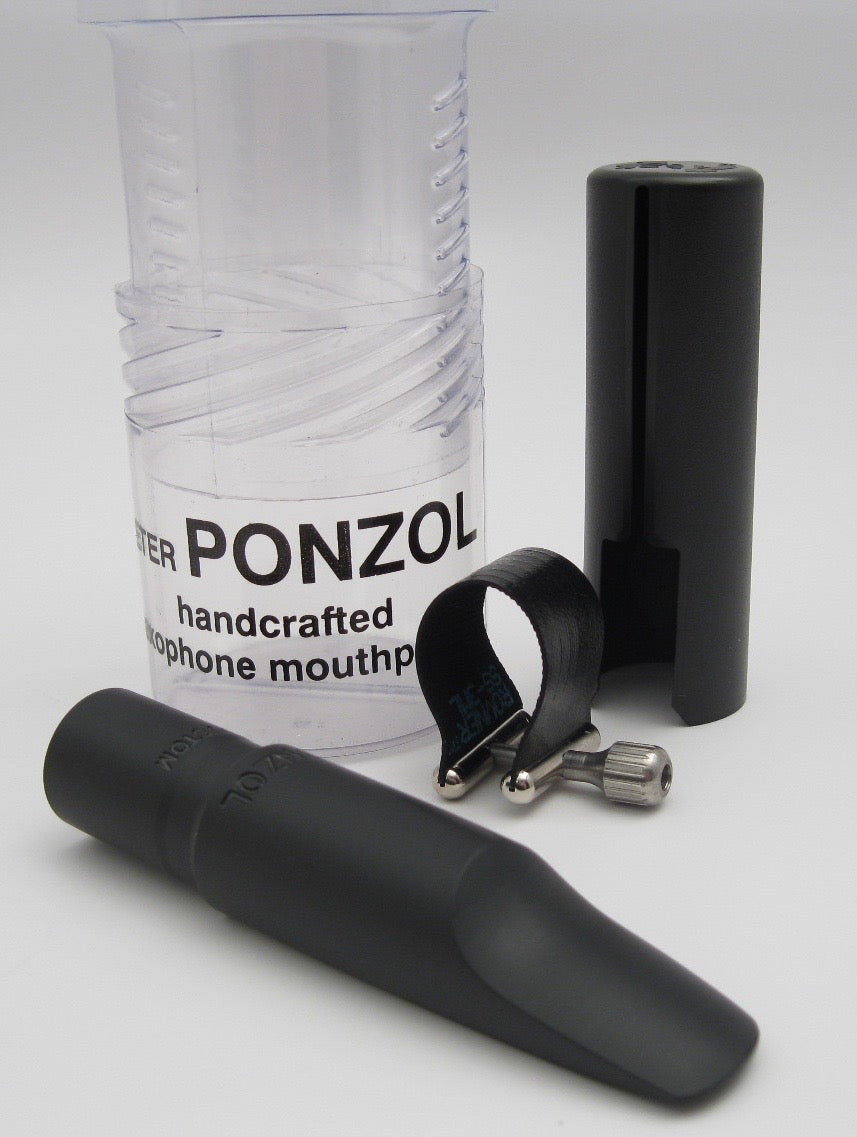 Ponzol Custom Tenor Saxophone Mouthpiece