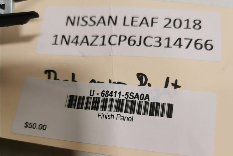 Nissan Leaf GEN 2 Finish Panel 68411-5SA0A