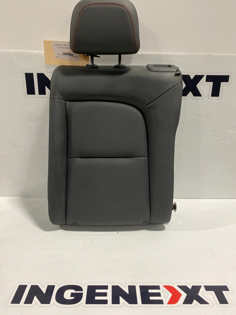 Chevrolet Bolt EV Seat Back Cover, LEFT LEATHER, GALVANIZED COOL 42619105