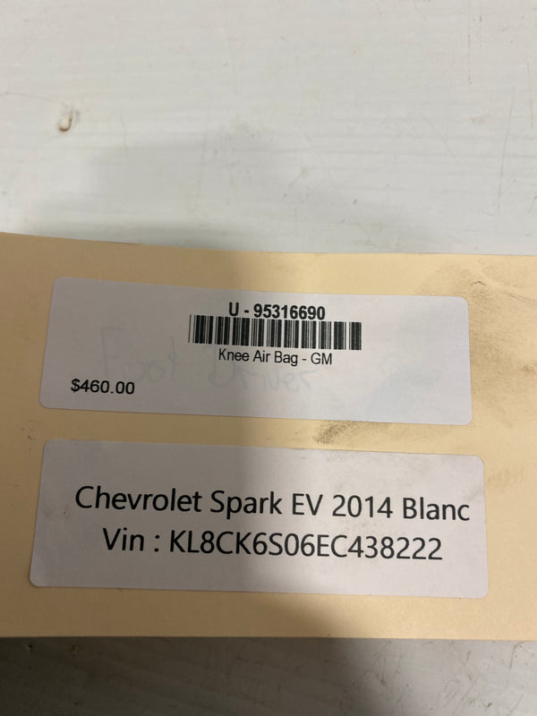 Chevrolet Spark EV Knee Air Bag 95316690