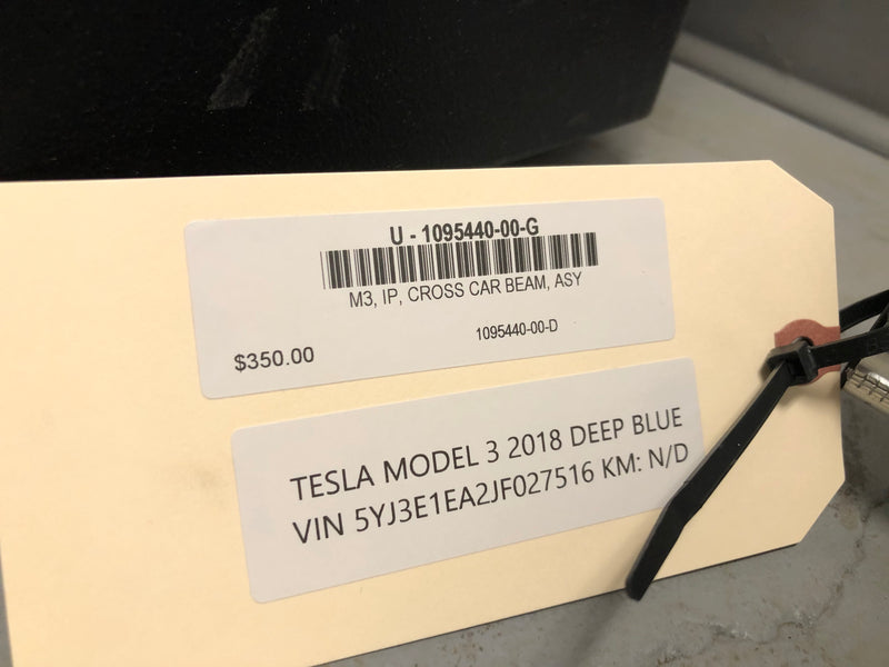 Tesla Model 3 CROSS CAR BEAM ASY 1095440-00-G