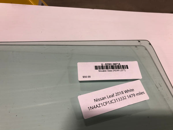 Movable Glass (REAR LEFT) 82301-3NF1A