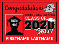 Boiling Springs High School 2020 Graduation Yardsign