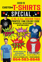 Custom Screen Printing 48 piece special!