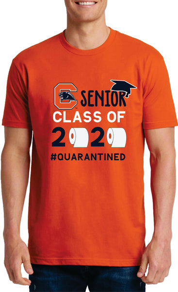Chapman High School Class of 2020 Senior Tee Shirt