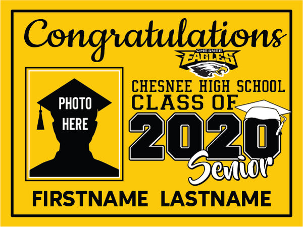 Chesnee High School 2020 Graduation Yard Sign
