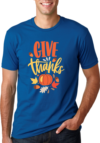Give Thanks Pumpkin Shirt