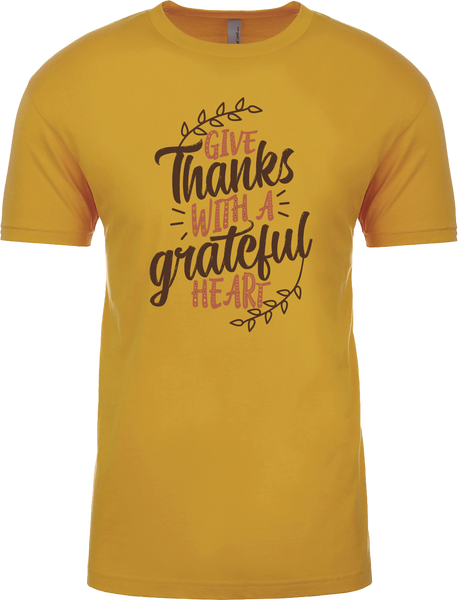 Give Thanks with a grateful Heart Thanksgiving Shirt
