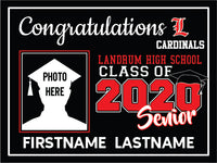 Landrum High School 2020 Graduation Yard Sign