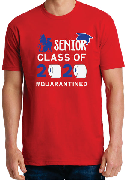 Spartanburg Day School 2020 Senior Tee Shirt