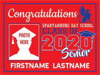 Spartanburg Day School 2020 Graduation Yard Sign
