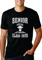 Senior Class of Social Distancing 2020 Covid Tee Shirt