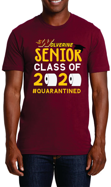 Woodruff High School 2020 Senior Tee Shirt