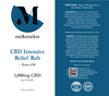 Intensive Relief Rub with EMU Oil (1000mg Hemp Airless pump)