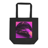 Rock N' Roll Never Dies Late Night Pink Organic Tote Bag