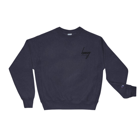 HMG Logo Embroidered Champion Sweatshirt Holiday