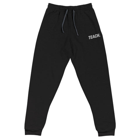 TEACH. Embroidered  Joggers