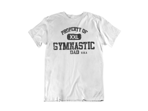 My Husband Don't Wear Gymnastics Tees