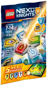 70372 NEXO KNIGHTS® Combo NEXO Powers SERIE 1 - FUORI CATALOGO
