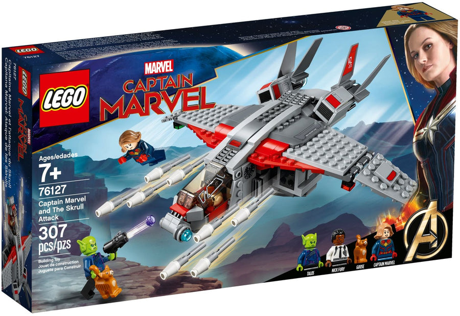 76127 CAPITAN MARVEL Capitain Marvel and The Skrull Attack