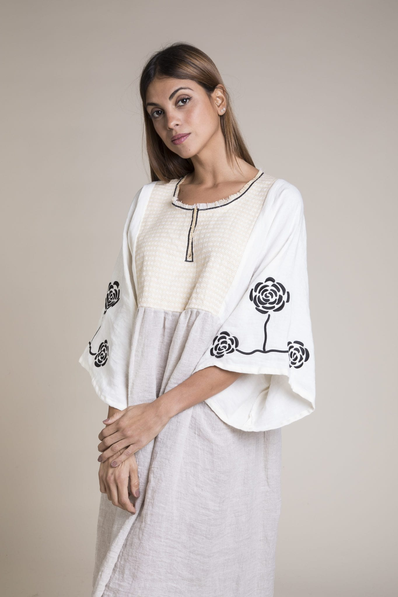 Jane natural Dress - Nina Leuca