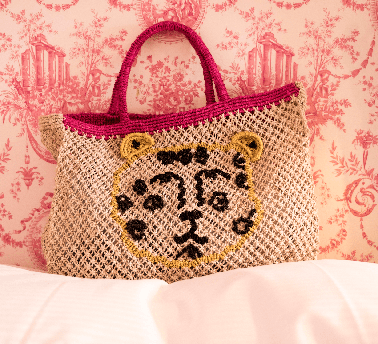 Leopard handcrafted bag - The Jacksons
