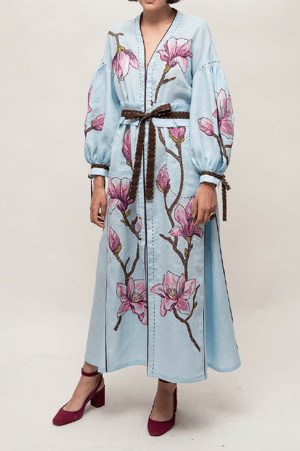 Magnolia Long Dress - My Sleeping Gypsy