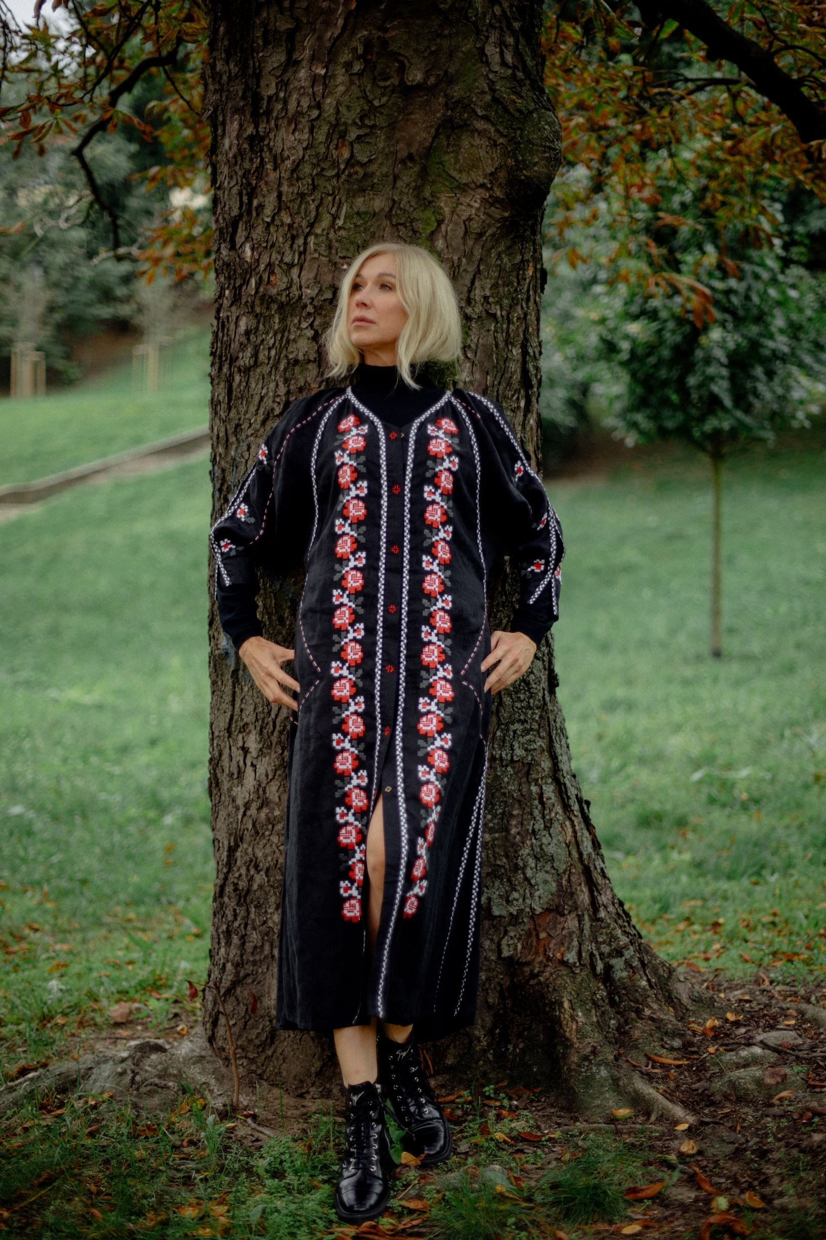 Black midi dress - My Sleeping Gypsy