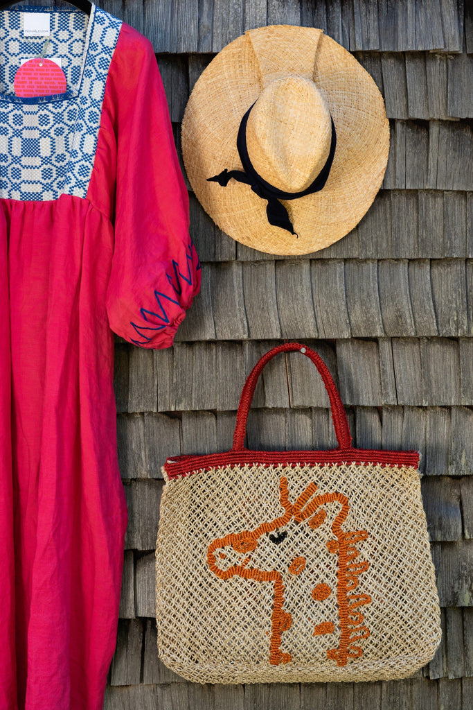 Giraffe handcrafted bag - The Jacksons