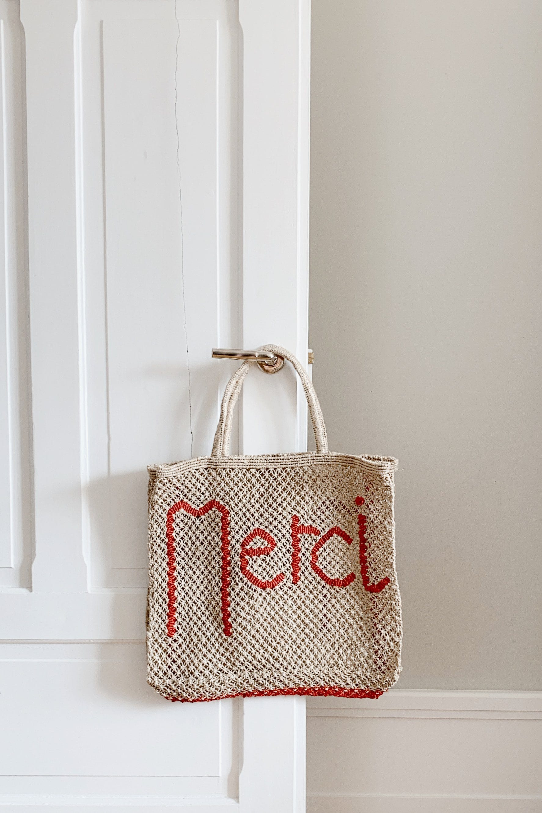 Merci handcrafted bag - The Jacksons
