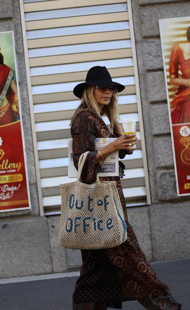 Out of office handcrafted bag - The Jacksons