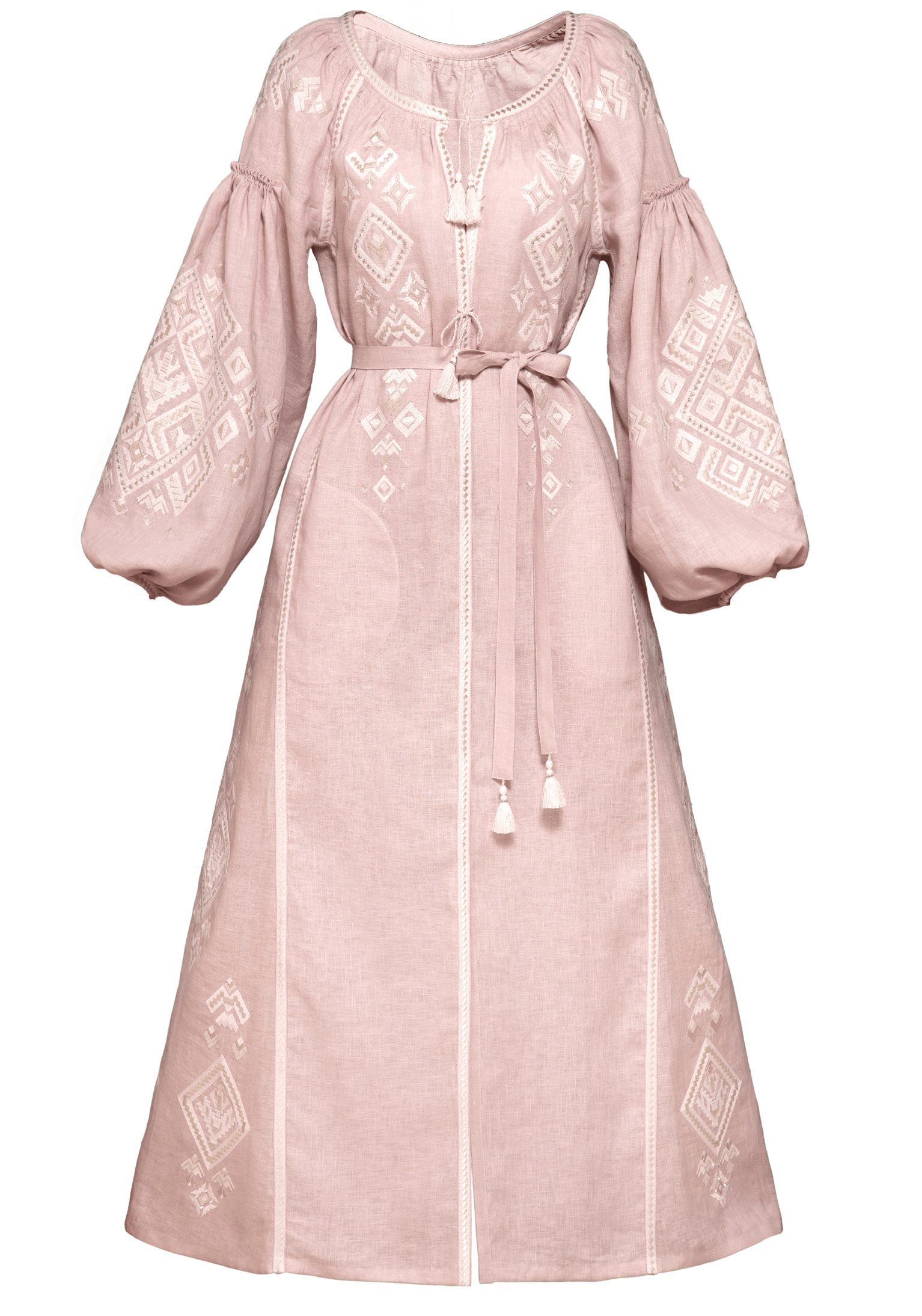 Powder pink midi dress - My Sleeping Gypsy