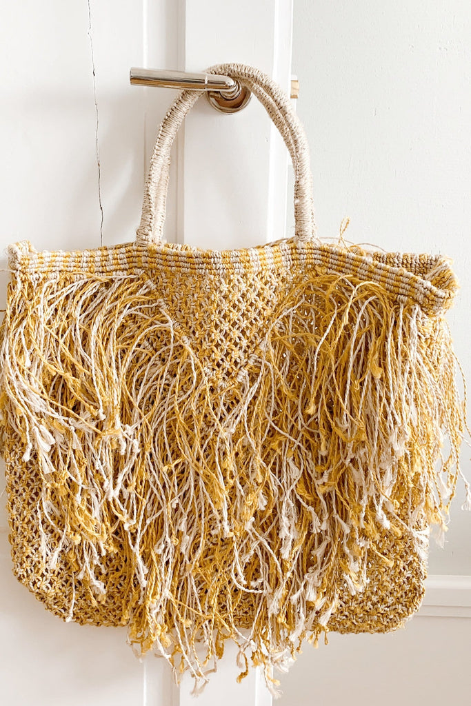 Tassels handcrafted bag - The Jacksons