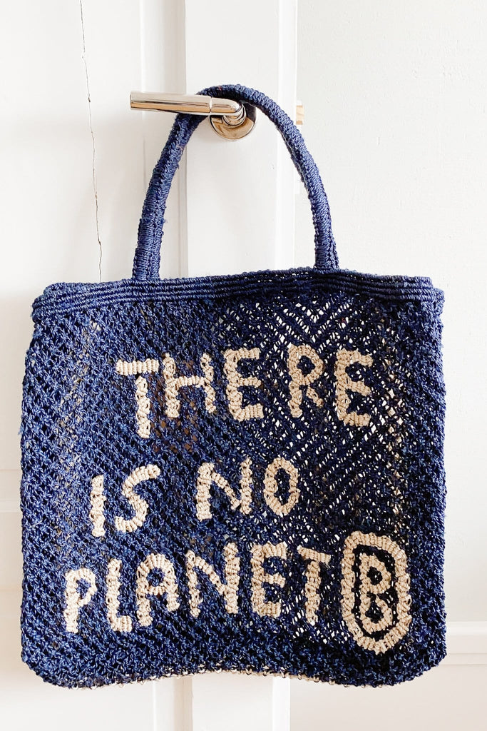 There is no planet B handcrafted bag - The Jacksons
