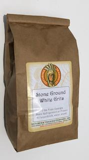 Stone Ground White Grits 2 lbs