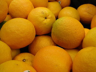 California jumbo Navel Orange 1 ea